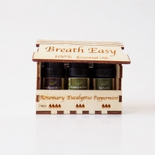 BREATH EASY - Αιθέρια έλαια για αποσυμφόρηση της αναπνοής