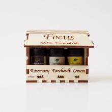 FOCUS - Αιθέρια έλαια για καλύτερη συγκέντρωση