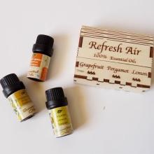 REFRESH AIR - Αιθέρια έλαια για ανανέωση & φρεσκάδα στο χώρο