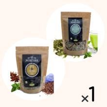 Cretan Detox Tea & Fit & Slim Tea για 1 μήνα