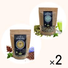 Cretan Detox Tea & Fit & Slim Tea για 2 μήνες